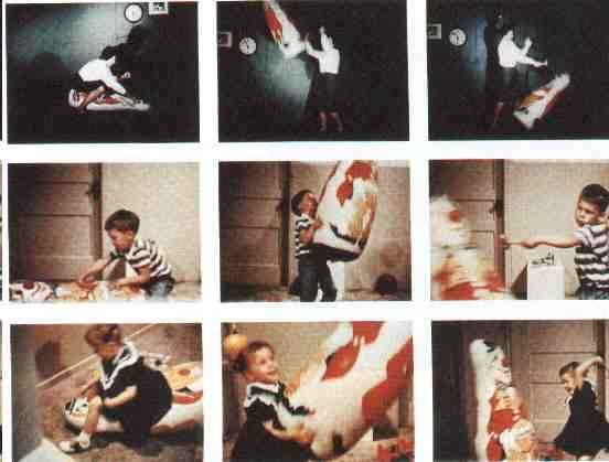 the bobo doll studies A big interest of mine is psychology, which deals a lot with correlational studies, some of which went mad a correlational study conducted by albert bandura supports the idea that individuals (in this case, children) learn through imitating others this is true, and bandura's bobo doll experiment .